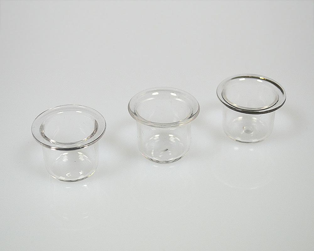 Quarzglas Kalorimeterschaelchen