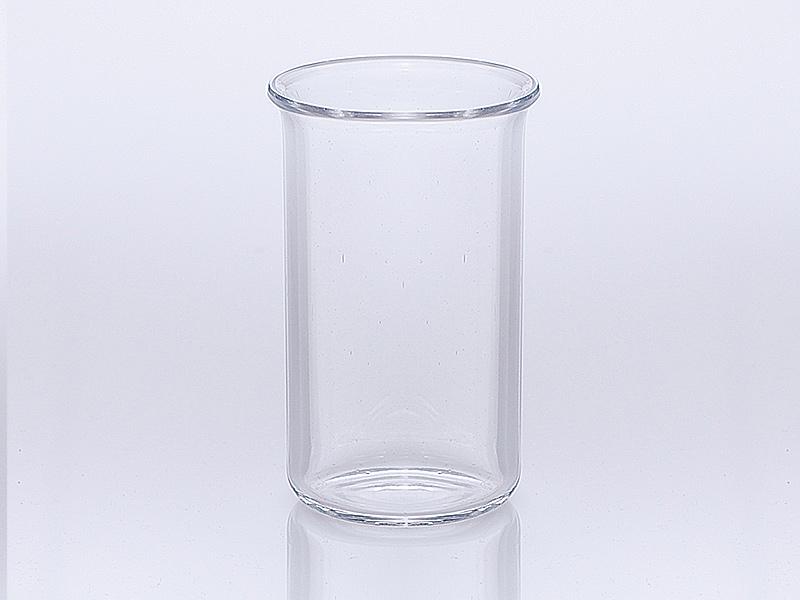 Quarzglas Becher hohe Bauform nach DIN 12 330