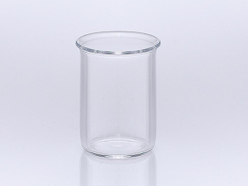 Quarzglas Becher niedrige Bauform nach DIN 12 330