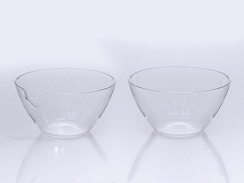 Quartz glass evaporating basins