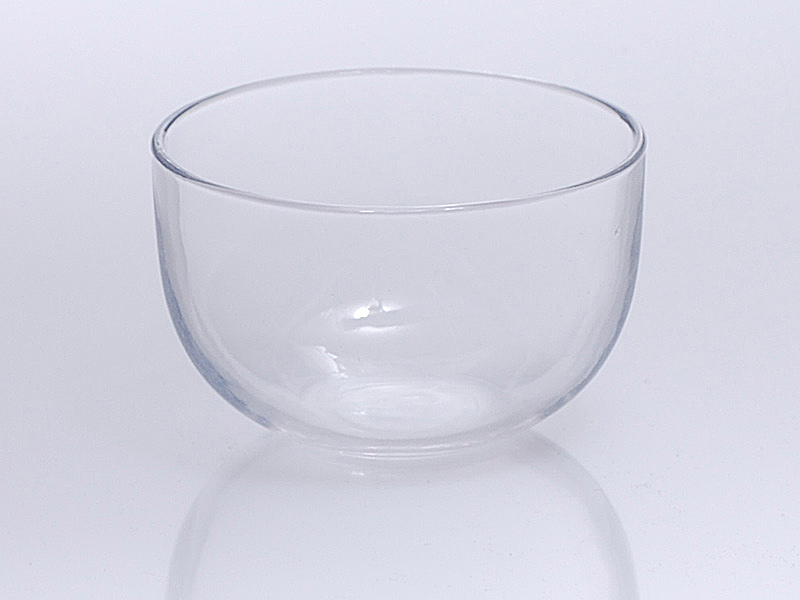 Quarzglas Tiegel flache Bauform